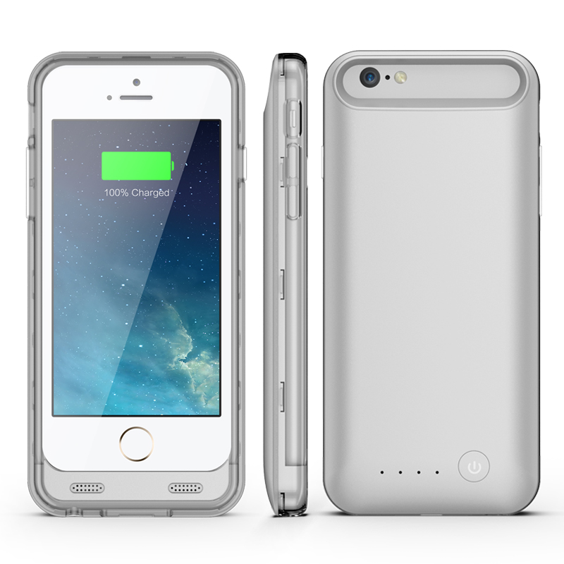 girafus iphone 6 cover silber