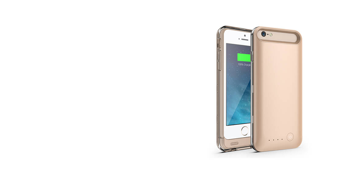 girafus iphone cover in gold