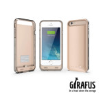 Girafus Iphone 6/6S 3100mAh externe batterie akku cover gold bild-02